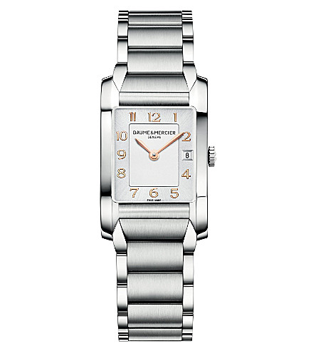 BAUME & MERCIER M0A10049 汉普顿不锈钢腕表 (银