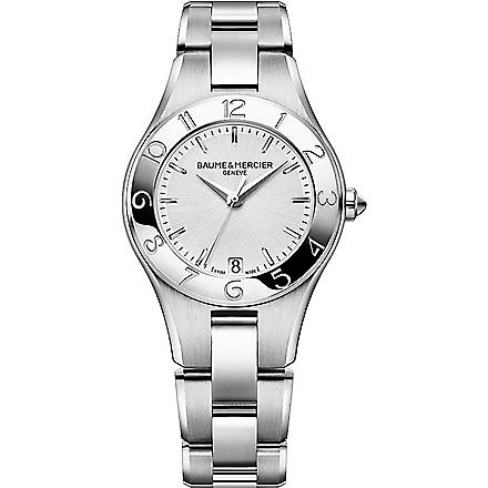 BAUME & MERCIER M0A10070 Linea stainless steel watch (Silver