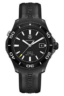 TAG HEUER Aquaracer 500m calibre 5 automatic watch 41mm