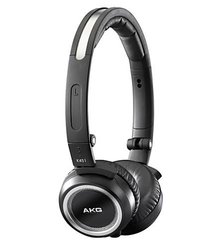 AKG K451 on-ear mini headphones
