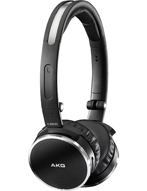 AKG K490NC noise-cancelling over-ear headphones