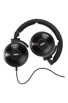 AKG K619 DJ on-ear headphones with in-line microphone