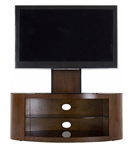 AVF FS1000 Affinity - Buckingham Oval Combi TV Stand (Walnut