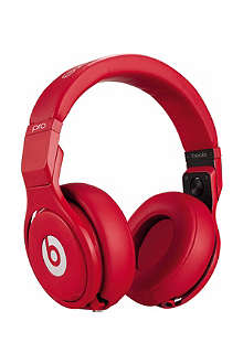 BEATS BY DRE Pro Limited Edition Red on-ear headphones