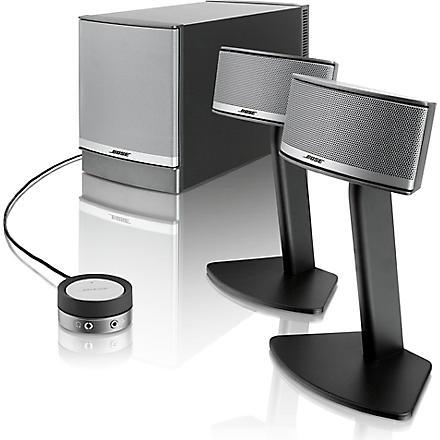 BOSE Companion 5 multi media speakers (Silver