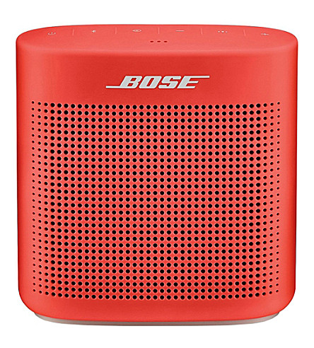 BOSE SoundLink® Colour Bluetooth® speaker II (Red
