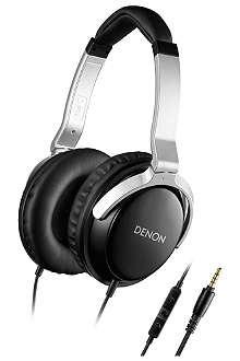 DENON Classic Mobile Elite on-ear headphones remote and mic