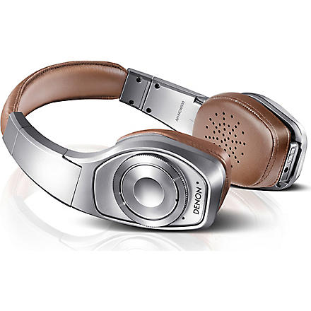 DENON Globe Cruiser wireless noise-cancelling on-ear headphones (Silver