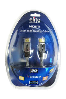 ELITE ACCESSORIES HDMI high-quality cable 3m