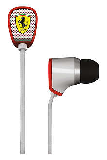 FERRARI BY LOGIC3 Scuderia Ferrari R100 noise-isolating in-ear headphones