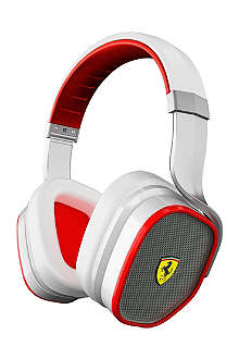 FERRARI BY LOGIC3 Scuderia Ferrari R300 noise-cancelling on-ear headphones