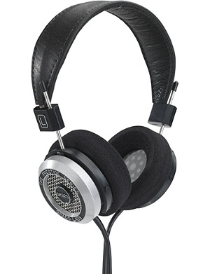 GRADO SR325i Prestige over-ear headphones and case