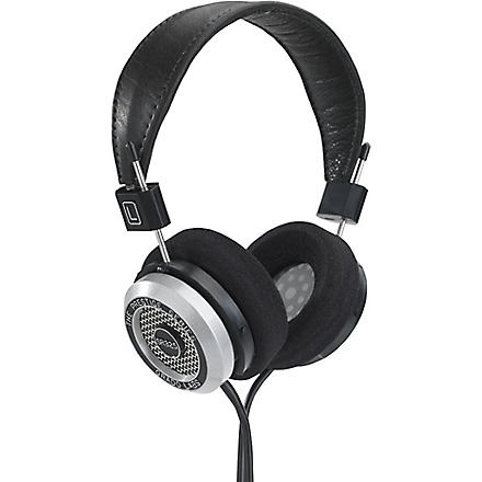GRADO SR325i Prestige over-ear headphones and case