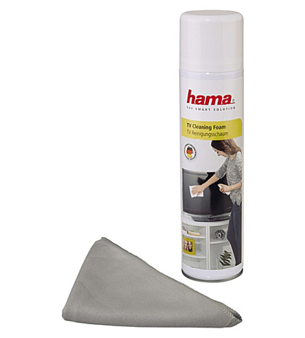 HAMA Screen Foam Cleaner and Cloth 400ml