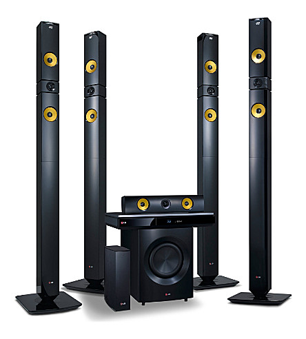 LG 9.1CH 3D home cinema system