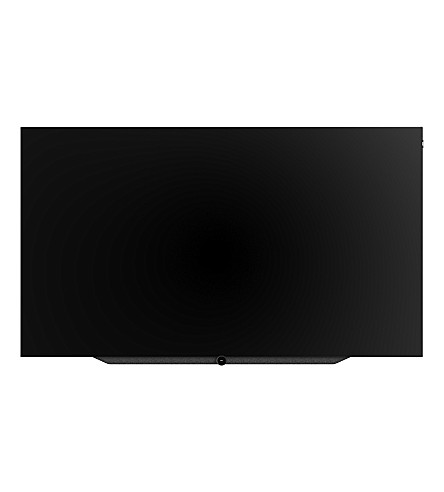 LOEWE TECHNOLOGY 77in Bild.7 4K OLED TV with flex wall mount in Graphite Grey