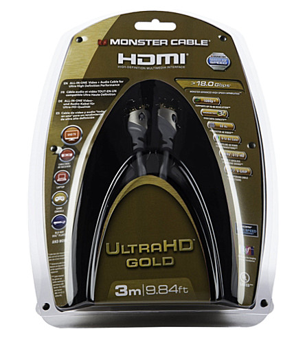 MONSTER Gold Advanced 3m High Speed HDMI Cable with Ethernet