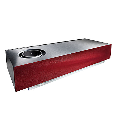 NAIM Mu-so additional speaker grill in red