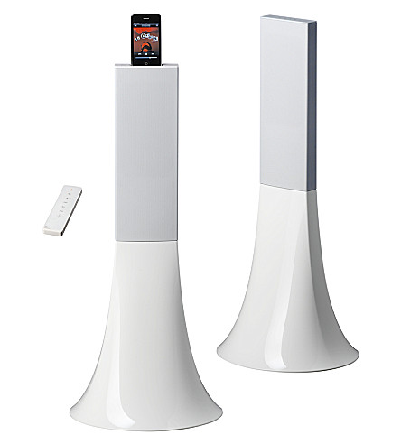 PARROT Pair of Parrot by Philippe Starck Zikmu speakers