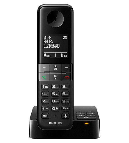 PHILIPS D4551b cordless phone and answer mahcine