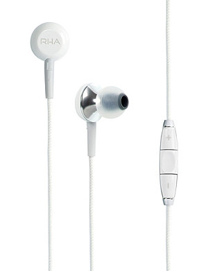 RHA Noise isolating MA450i aluminium in-ear earphones