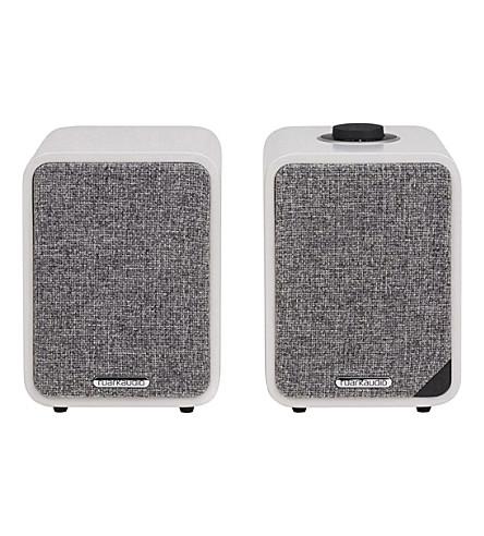 RUARK AUDIO MR1 MK.II active bluetooth speakers (Soft grey