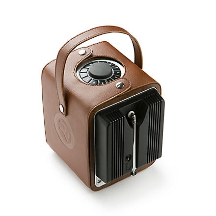 RUARK AUDIO Leather R1 radio carry case
