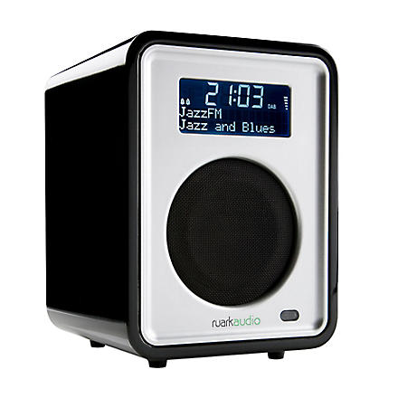 RUARK AUDIO R1 clock radio black