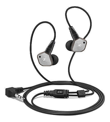 SENNHEISER IE 80 high-fidelity in-ear earphones
