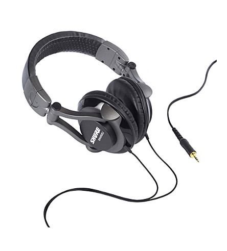 SHURE SRH550DJ DJ over-ear headphones