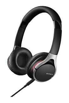 SONY Prestige MDR-10RC on-ear headphones Black