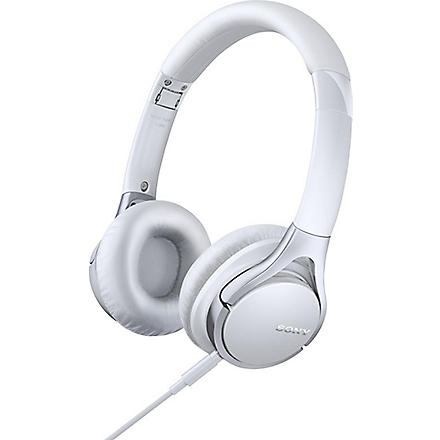 SONY Prestige MDR-10RC on-ear headphones White