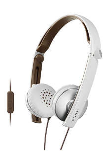SONY MDR-S70AP foldable headphones with microphone