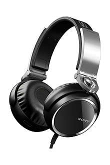SONY Extra bass on-ear headphones