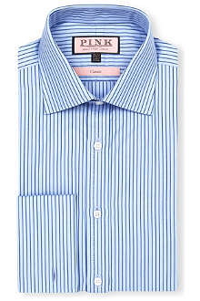 THOMAS PINK Alannis classic-fit double-cuff shirt