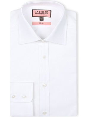 THOMAS PINK Royal Oxford classic-fit single-cuff shirt