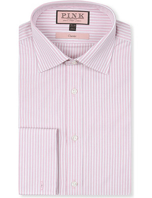 THOMAS PINK Classic-fit French-cuff shirt