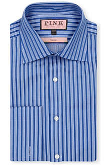 THOMAS PINK Mccartney classic-fit double-cuff shirt