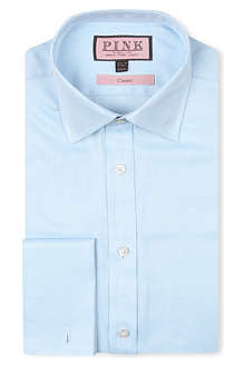 THOMAS PINK Bryant classic-fit double-cuff shirt