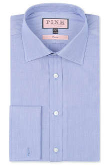 THOMAS PINK Murphy striped classic-fit double-cuff shirt