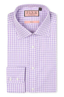 THOMAS PINK Maynard classic-fit button-cuff shirt