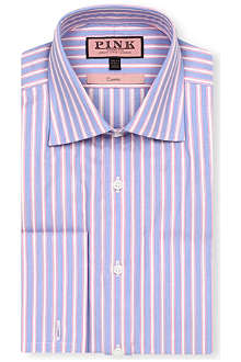 THOMAS PINK Barrett classic-fit double-cuff shirt