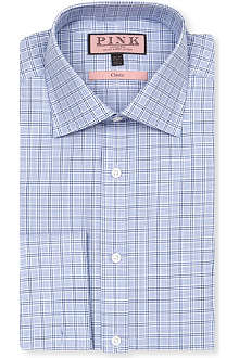 THOMAS PINK Lancaster classic-fit double-cuff shirt