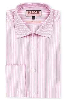 THOMAS PINK Prescott classic-fit double-cuff shirt