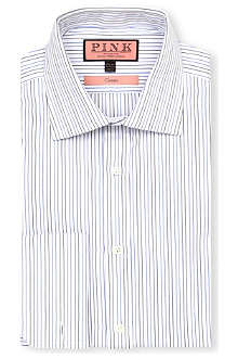 THOMAS PINK Cobbe classic-fit double-cuff shirt