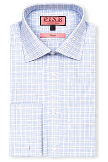 THOMAS PINK Ballarne classic-fit double-cuff shirt