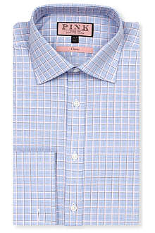 THOMAS PINK Monckton classic-fit double-cuff shirt