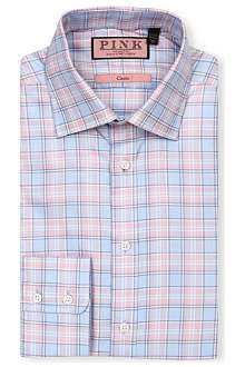 THOMAS PINK Luca classic-fit button-cuff shirt