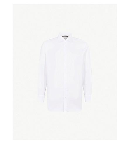 THOMAS PINK Winston classic-fit cotton Oxford shirt (White