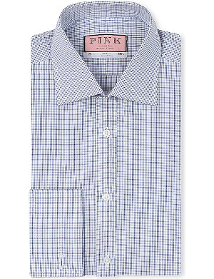 THOMAS PINK Vienna classic-fit double-cuff shirt